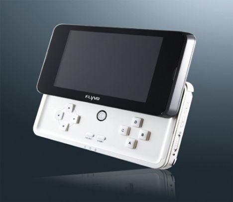 Une autre console portable la flyvd centerblog - Console de jeux portable tactile ...